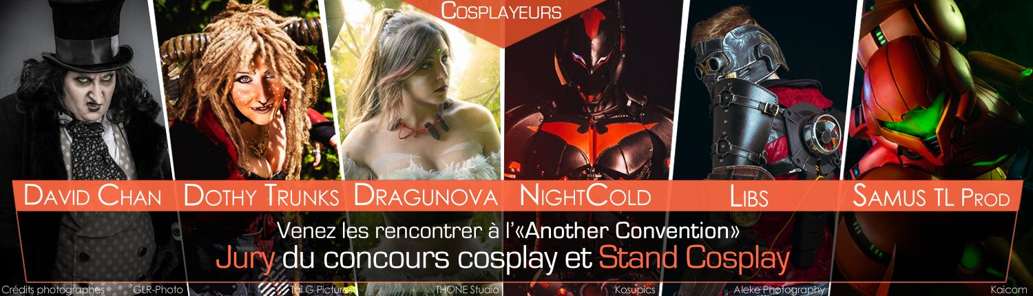 Cosplayers invités a Another Convention