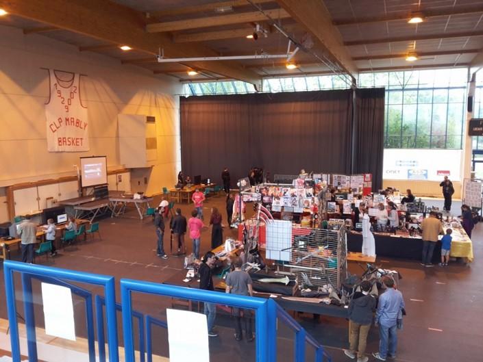 Apercu de la salle du COSEC - Another Convention