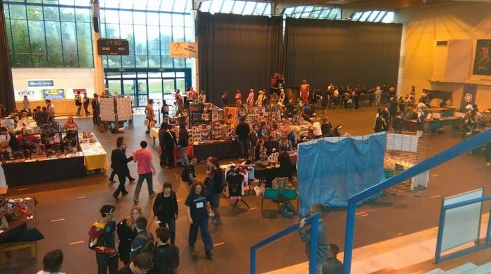 Aperçu de la salle du COSEC - Another Convention