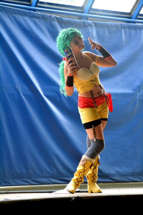 Ealize Cosplay lors du concours cosplay