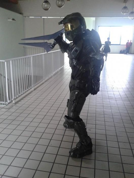 Cosplay Spartan de Halo